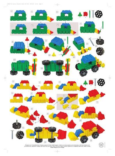 konstruowanie pojazdów rolniczych z klocków edukacyjnych morphun