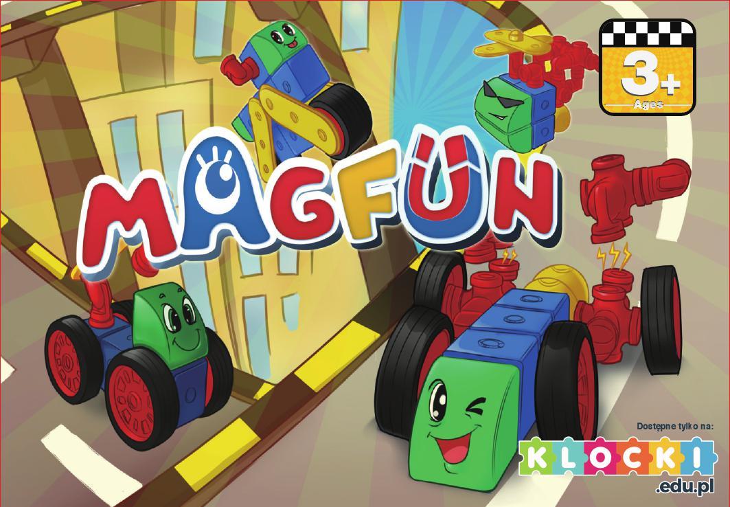 Klocki magnetyczne Magfun dla dzieci