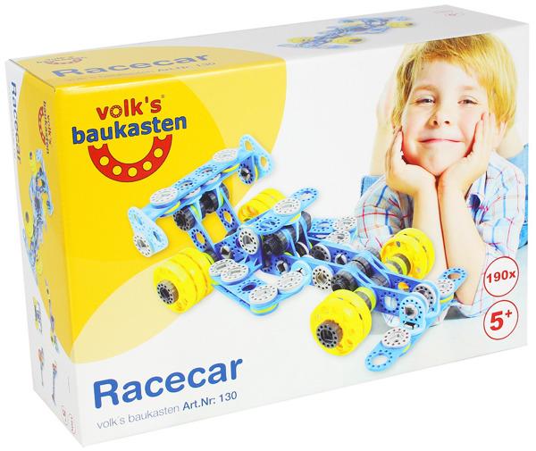 Klocki Volk's Baukasten Samochód Wyścigowy 190 el.