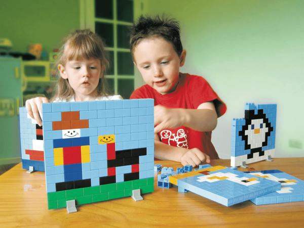Klocki konstrukcyjne Little Architect - Build a Picture 900 el.